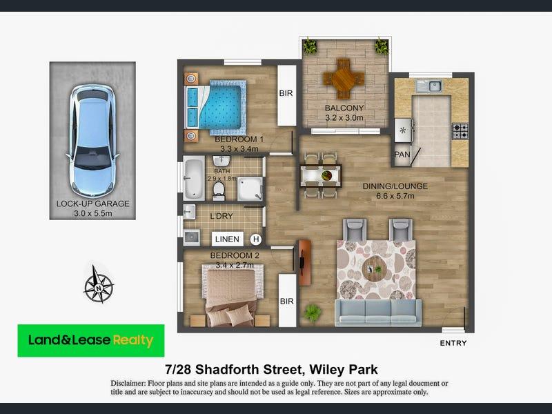 7/28 Shadforth Street, Wiley Park, NSW 2195